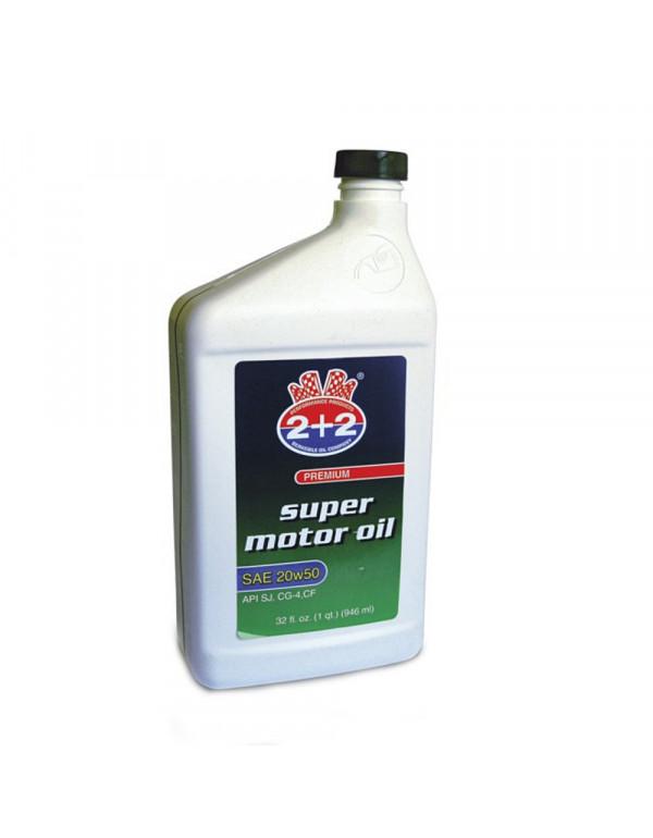 SUPER MOTOR OIL 20W50 API SJ 946 ml