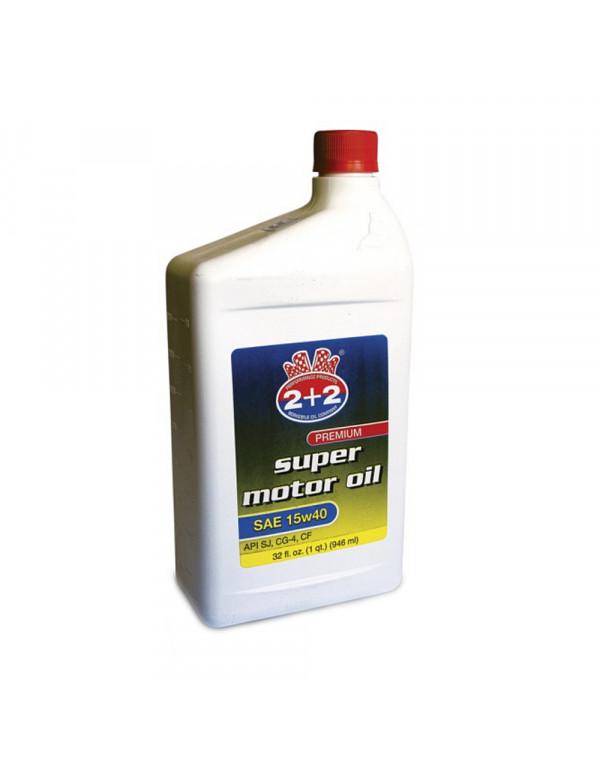 SUPER MOTOR OIL 15W40 API SJ 946 ml